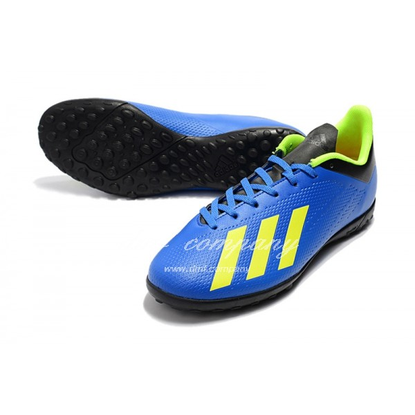 Adidas X Tango 18.4 TF Men's Blue Black And Green