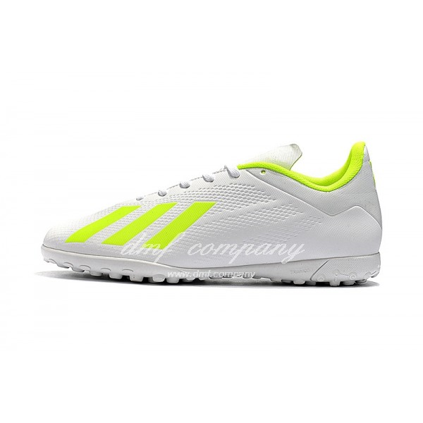 Adidas X Tango 18.4 TF Men's White And Fluorescent Green
