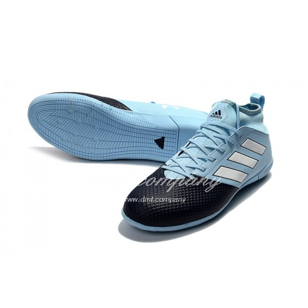 Adidas Ace 17.3 Primemesh IC Men's Black Sky Blue And White