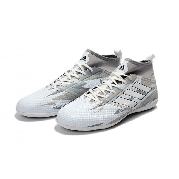 Adidas Ace 17.3 Primemesh IC Men's Grey And White