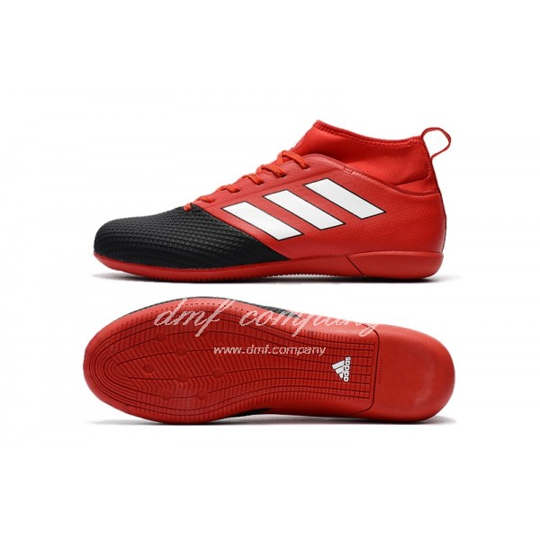 Adidas Ace 17.3 Primemesh IC Men's Red Black And White