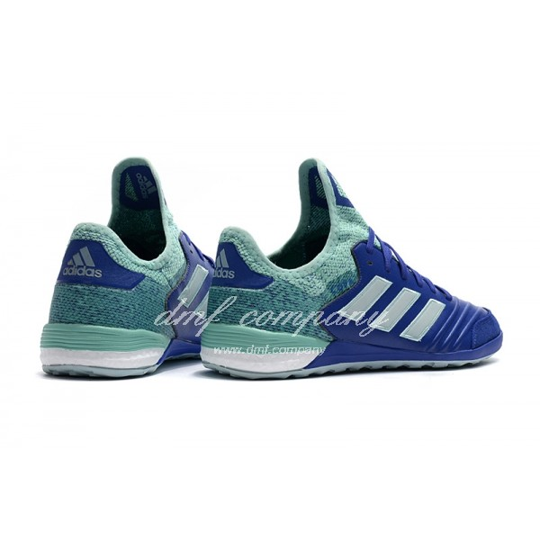 Adidas Copa Tango 18.1 IN Men's Blue Lake Blue And White