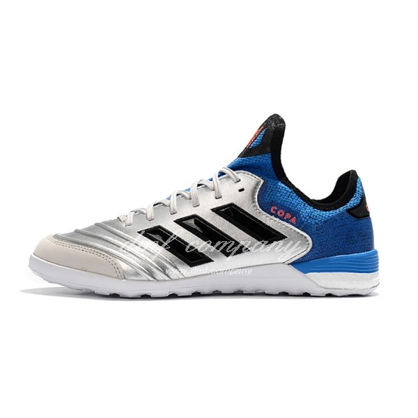 Adidas Copa Tango 18.1 IN Men's Silver Blue And Black