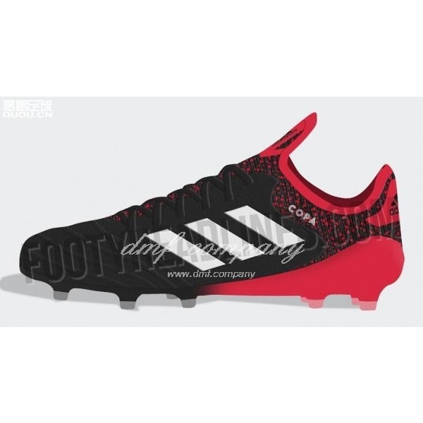 Adidas Copa 18.1 FG Men's Black Red And White