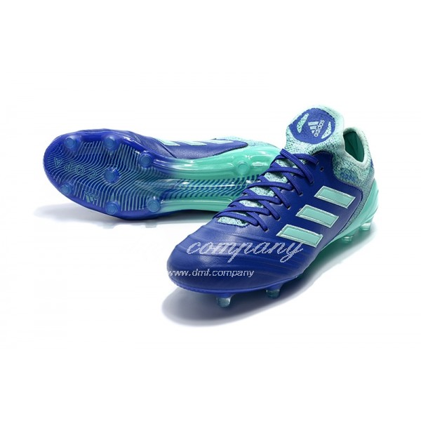 Adidas Copa 18.1 FG Men's Blue And Lake Green