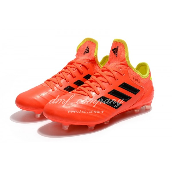 Adidas Copa 18.1 FG Men's Orange Black And Yellow