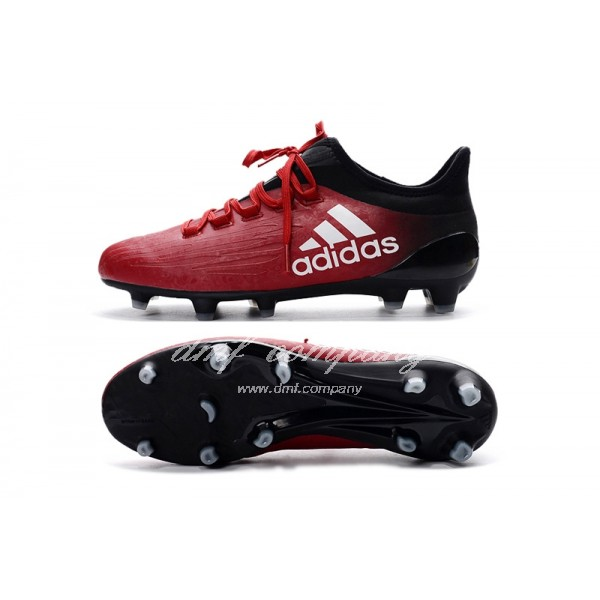 Adidas X 16.1 FG∕AG Men's Red And Black