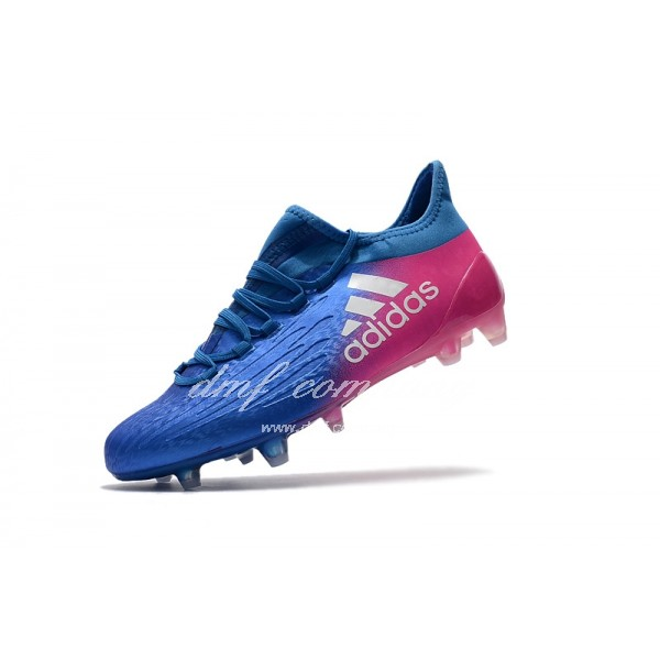 Adidas X 16.1 FG∕AG Men's Blue And Red