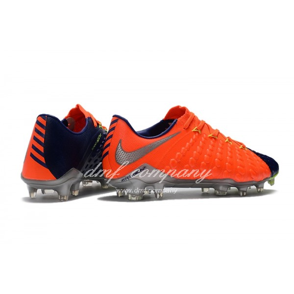 NIke Hypervenom Phantom III Men Orang/Blue FG