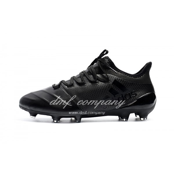 Adidas X 17.1 leather FG Men's All Black