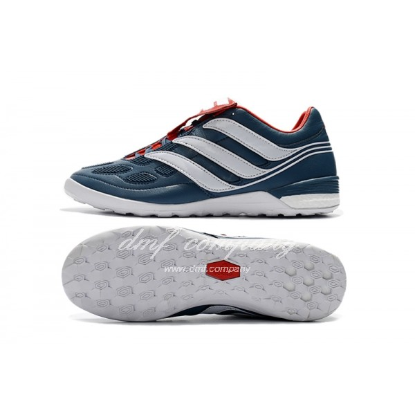 adidas Predator Precision IC 5 Men Dark Blue/Red