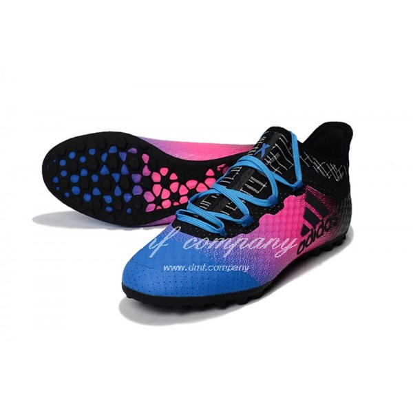 Adidas Men's X Tango 16.1 TF39-45 Blue Red And Black