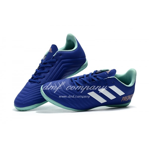 Adidas Predator Tango 18.4 IN Men's Blue Upper And Green Sole