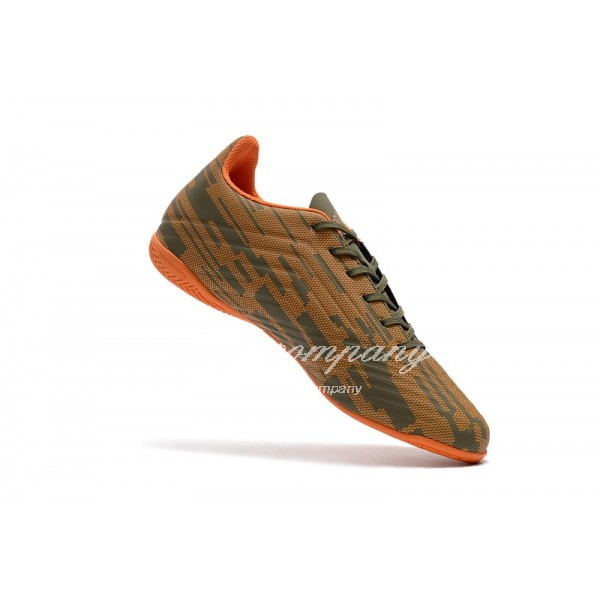 Adidas Predator Tango 18.4 IN Men's Brown Upper And Orange Sole