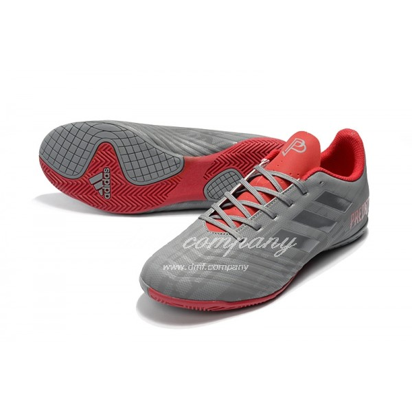 Adidas Predator Tango 18.4 IN Men's Grey And Red