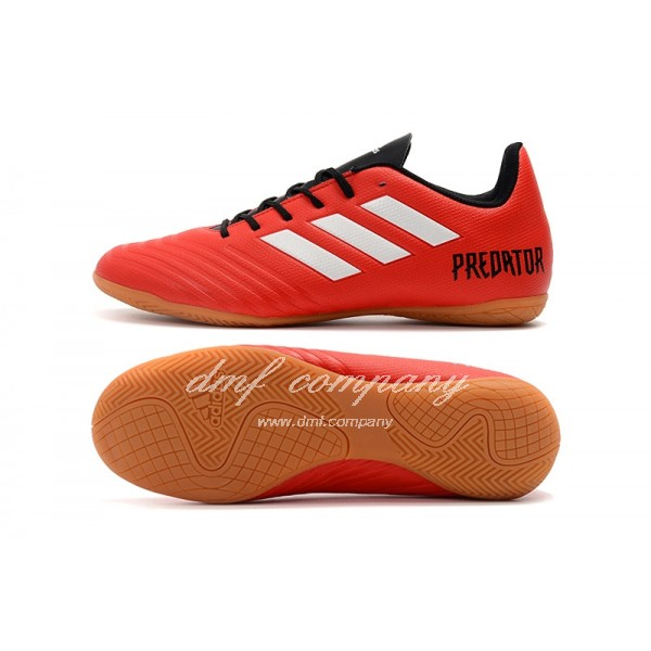 Adidas Predator Tango 18.4 IN Men's Red With Black Shoelace