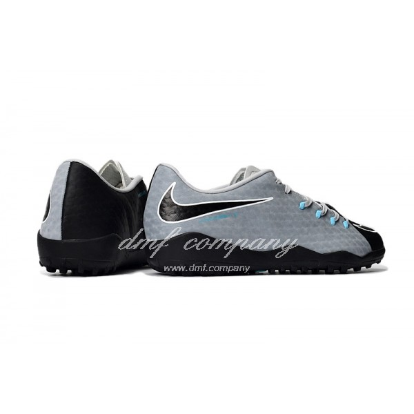 Nike Hypervenom Phantom Premium Men Grey/Black TF
