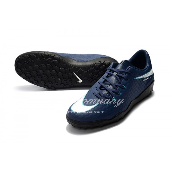 Nike Hypervenom Phantom Premium Men Blue TF