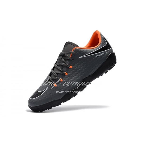 Nike Hypervenom Phantom Premium Men Grey TF