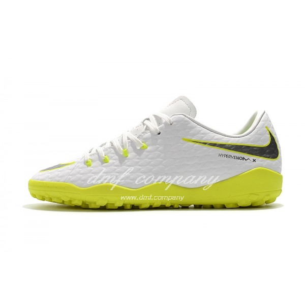 Nike Hypervenom Phantom Premium Men White/Green TF