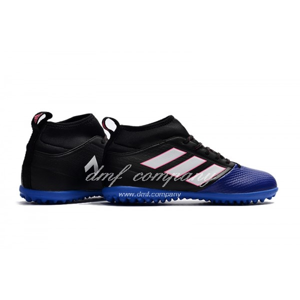 Adidas Men's Ace 17.3 Primemesh TF Blue Blue Black And White