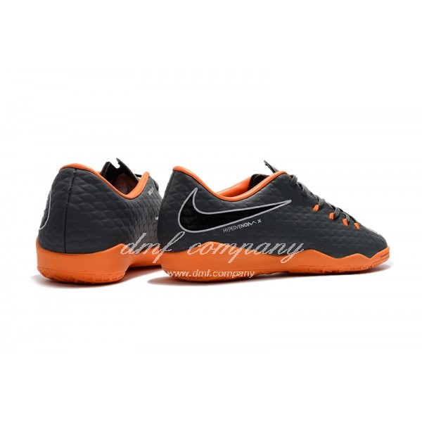 Nike Hypervenom Phantom Premium Men Dark Grey/Orange IC