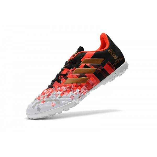 Adidas Predator Tango 18.4 TF Men's White Orange And Black