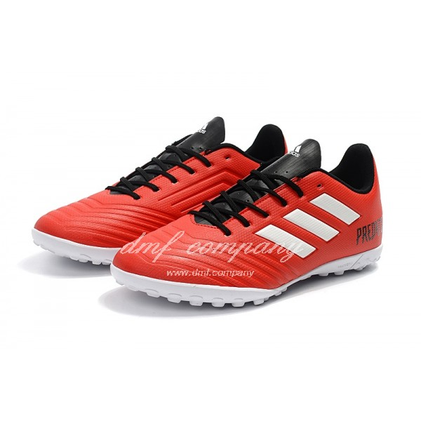 Adidas Predator Tango 18.4 TF Men's Red White With Black Shoelace