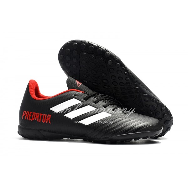 Adidas Predator Tango 18.4 TF Men's Black White And Red