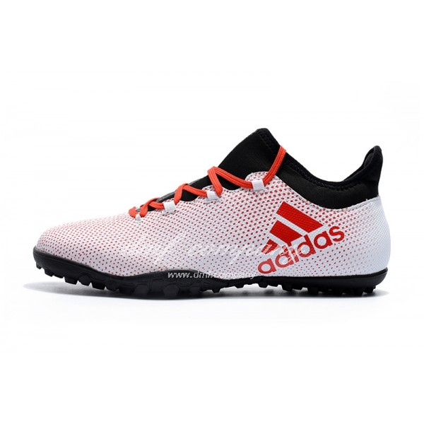 Adidas Men's X Tango 17.3 TF Pink And Red