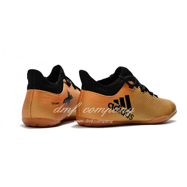 Adidas Men's X Tango 17.3 IC Orange And Black