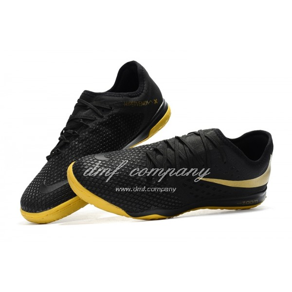 NIke Hypervenom PhantomX III PRO Men Black/Yellow IC