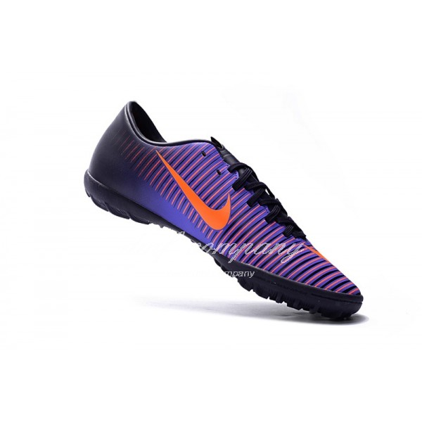 NIke Mercurical Victory VI  Men/Women Purple/Black TF