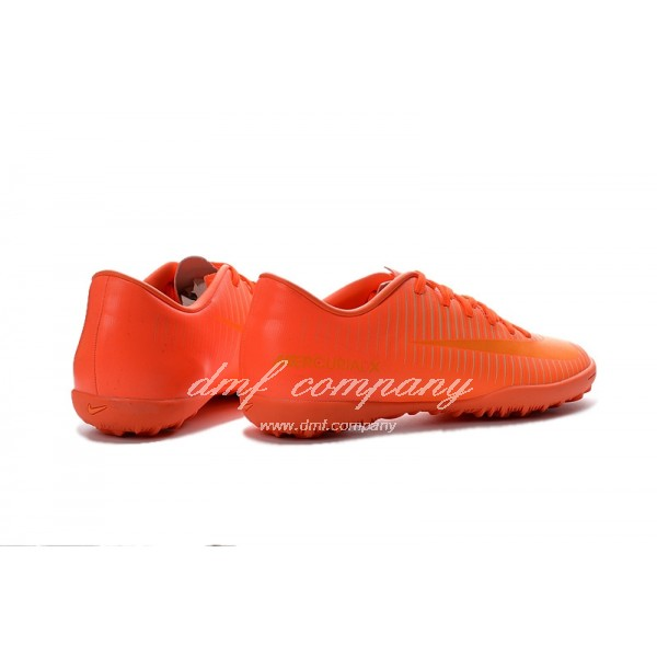NIke Mercurical Victory VI  Men/Women Orange TF