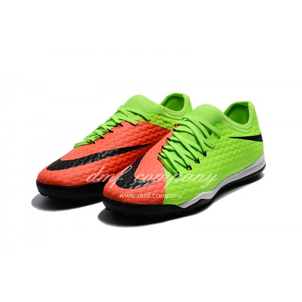 Nike HypervenomX Finale II Men Green/Orange TF