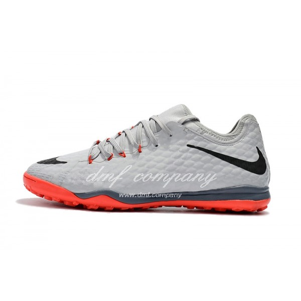 Nike HypervenomX Finale II Men Grey/Orange TF