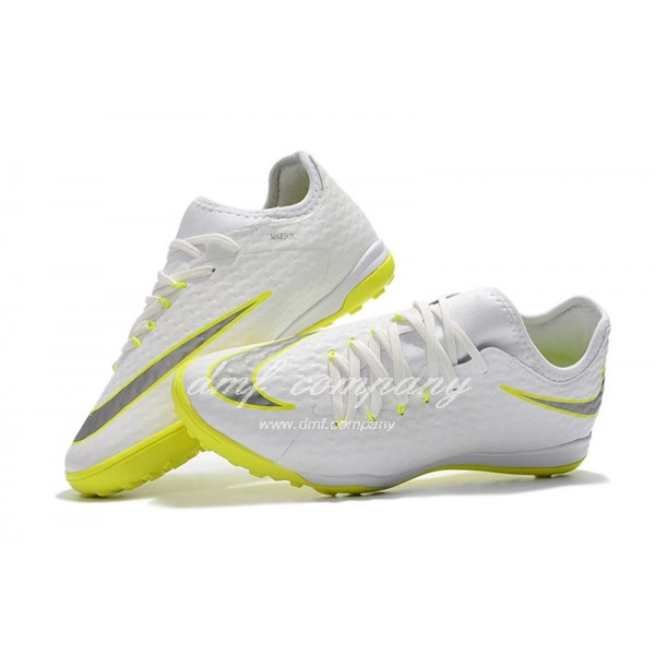 Nike HypervenomX Finale II Men White/Yellow TF