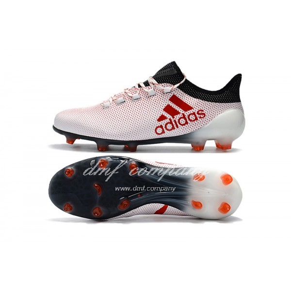 Adidas Men's X 17.1 FG Pink Black And Red