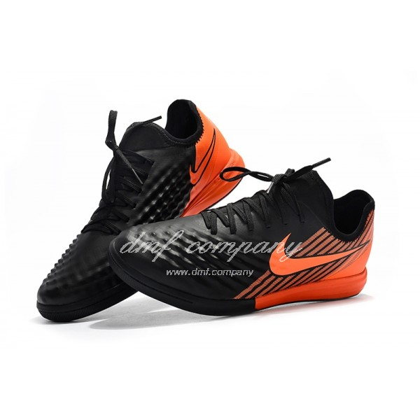 Nike MagistaX Finale II Men Black/Orange IC