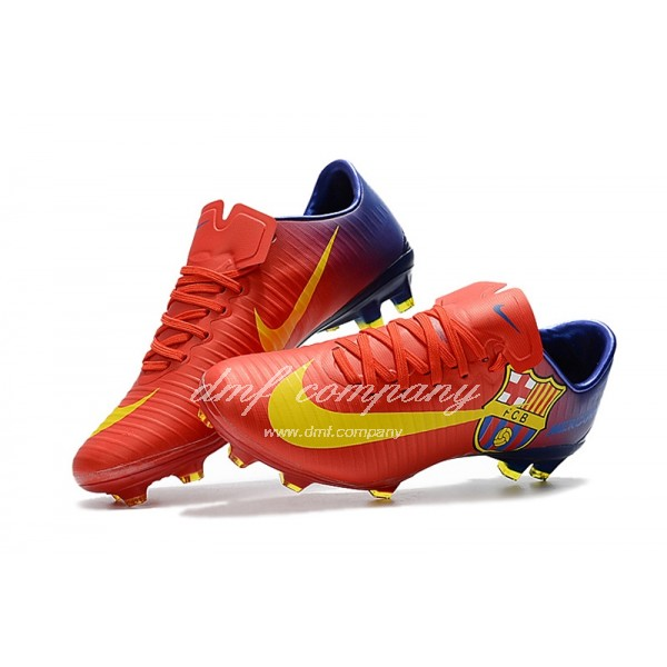 Nike Mercurial Vapor XI Men Red/Blue FG