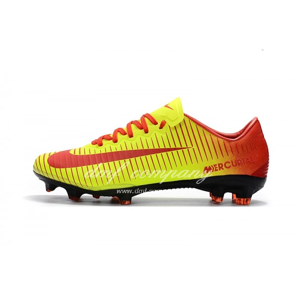 Nike Mercurial Vapor XI Men Red/Yellow FG