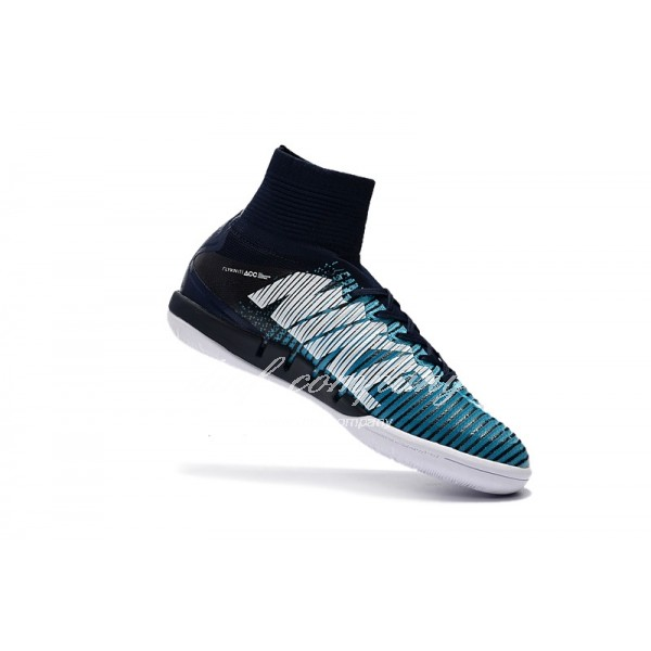NIke Mercurial Superfly V IC Men/Women Blue/Black