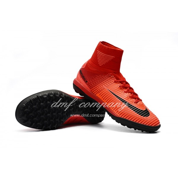 NIke Mercurial Superfly V TF Men Red/BlackNIke Mercurial Superfly V TF Men Red/Black