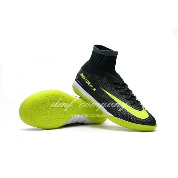 NIke MercurialX Proximo II CR7 IC Men Black/Yellow