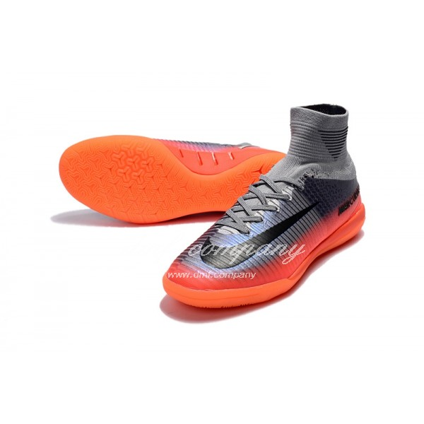 Nike Mercurial Superfly V CR7 IC Men Grey/Purple/Orange