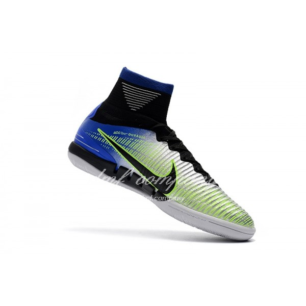 NIke Mercurial Superfly V IC Men Silver/Blue