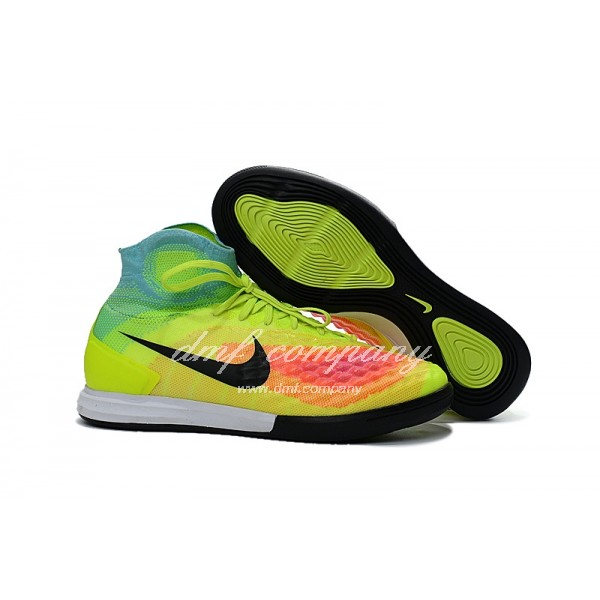 Nike Men's MagistaX Proximo II Green And Red