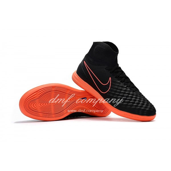 Nike Men's MagistaX Proximo II Black Upper And Green Sole