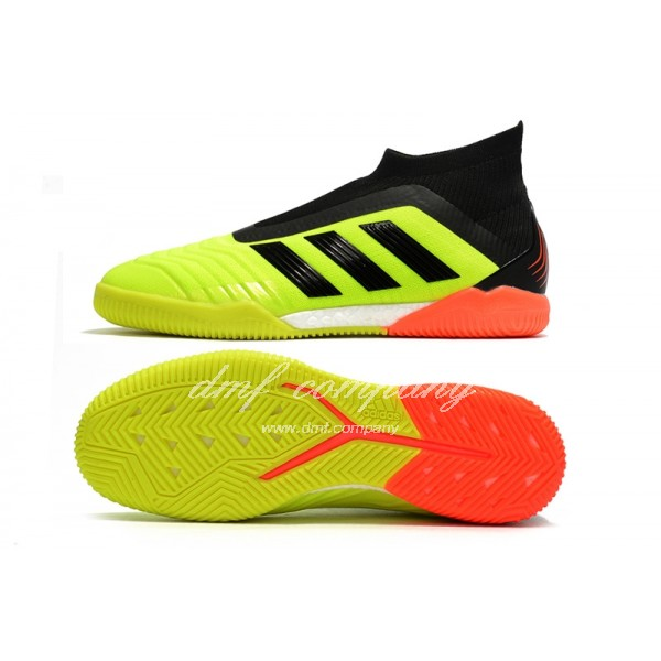 adidas Predator Tango 18+ IN Men Fluorescent Yellow/Black/Orange