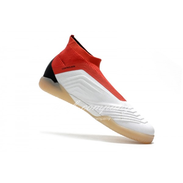 adidas Predator Tango 18+ IN Men White/Red